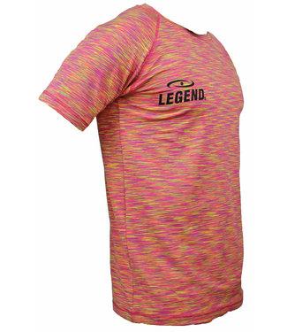 Trendy Legend DryFit sportshirt Geel Melange