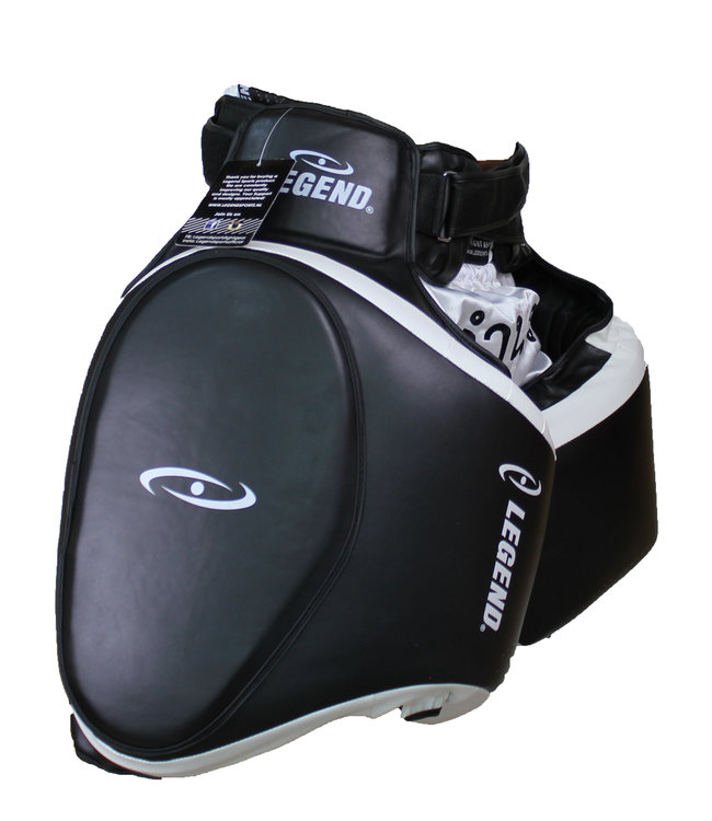 Legend Sports Leg Protector zwart/wit