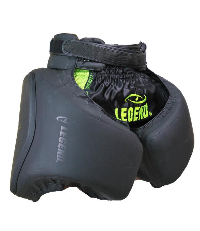 Legend Sports Leg Protector Matt Black