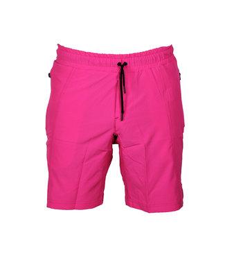 Legend Sports Korte broek/short Legend met rits vakken neon roze
