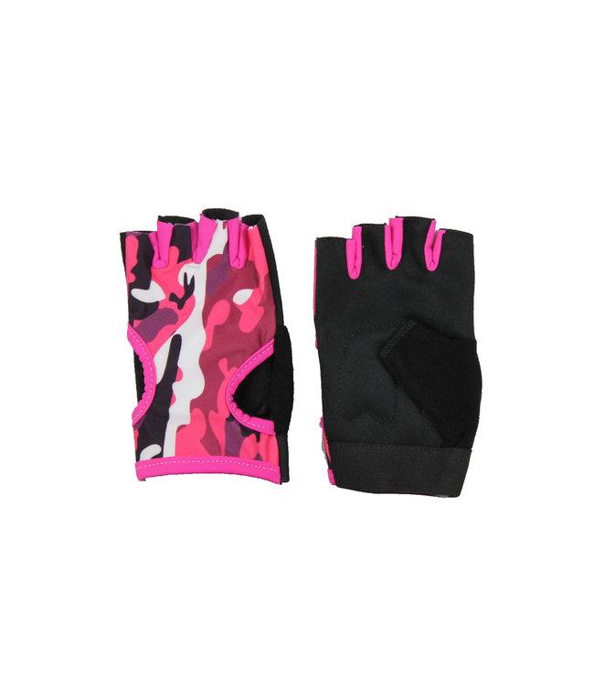 Legend Sports Fitness handschoenen dames Easy Drifit camo roze