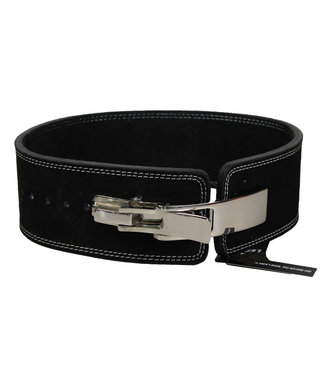 Legend Sports Power Lifting Fitness Riem lever zwart suede leer