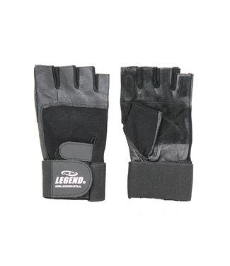 Legend Sports Fitness handschoenen leder zwart