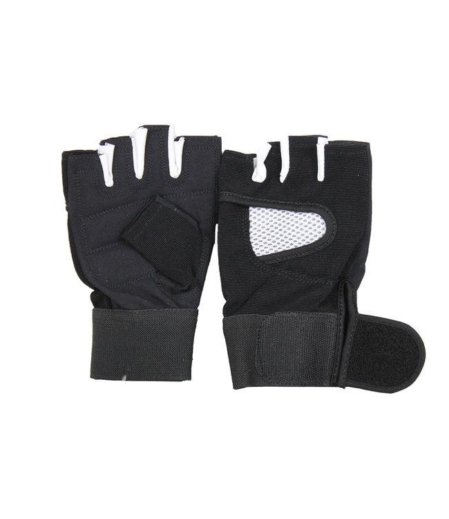 Legend Sports Fitness Handschoenen Legend Mesh zwart/wit