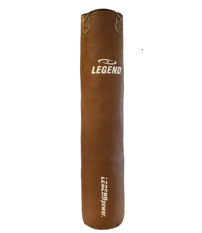 Legend Sports Bokszak 150CM Lederen Legend Luxury PRO Panda Hide™  3 Jaar garantie