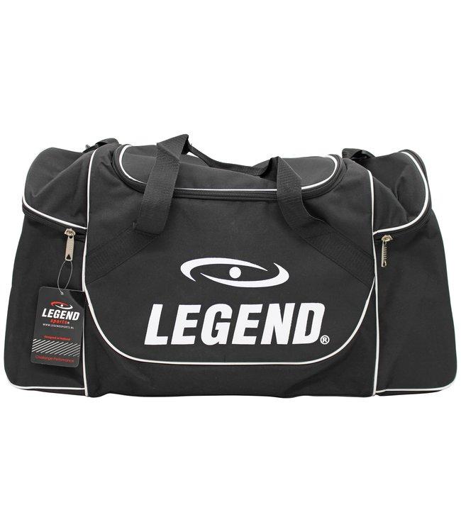 Legend Sports Sporttas Legend met 3 rits vakken zwart