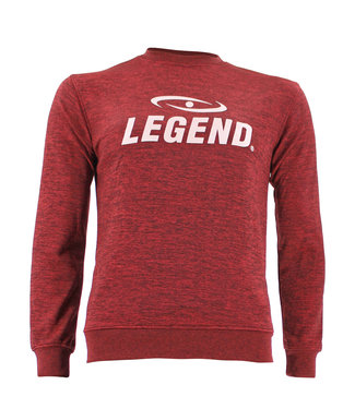 Legend Sports Trui/sweater dames/heren SlimFit Design Legend Rood