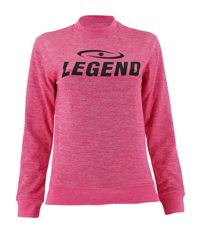 Legend Sports Trui/sweater dames/heren SlimFit Design Legend Roze