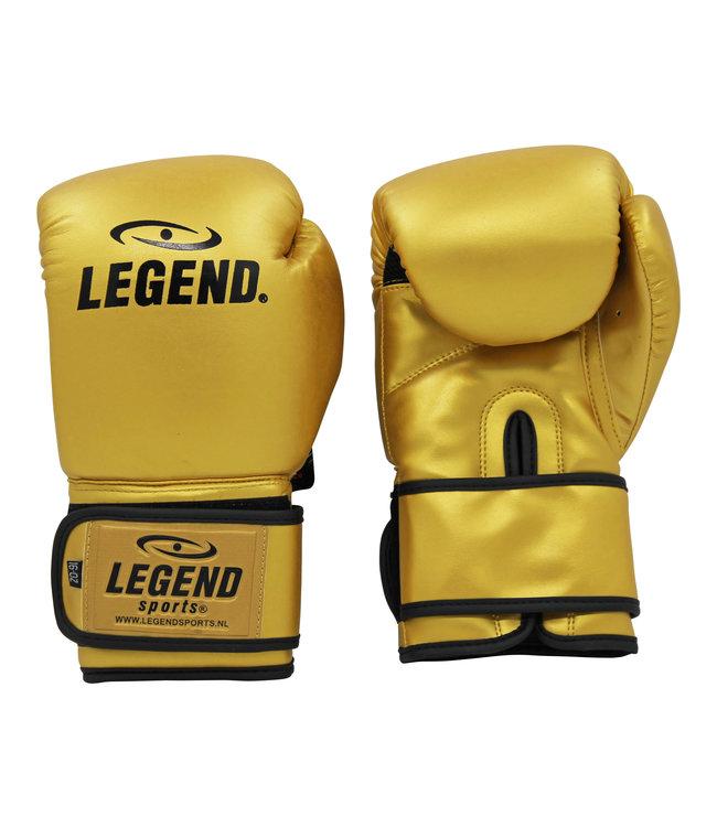 Legend Sports Bokshandschoenen goud powerfit & Protect