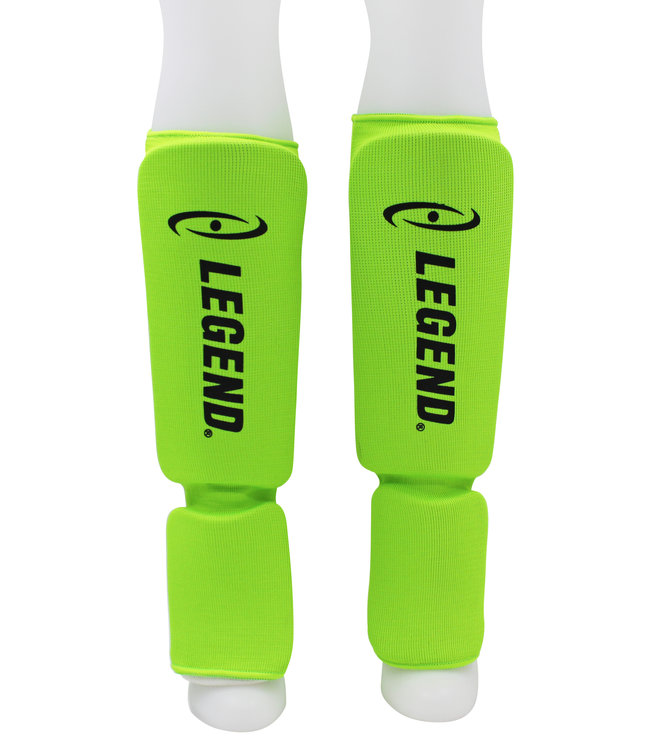 Legend Sports Scheenbeschermers Legend Easy Neon Groen