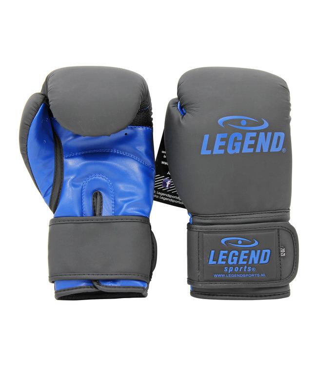Legend Sports Bokshandschoenen LegendClima & Protect Mat zwart/Blauw