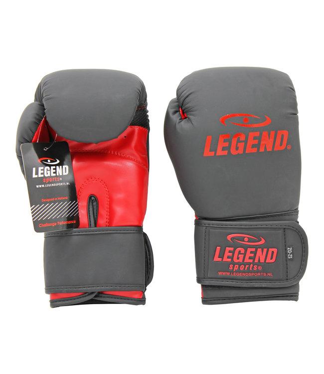 Legend Sports Bokshandschoenen LegendClima & Protect Mat zwart/Rood