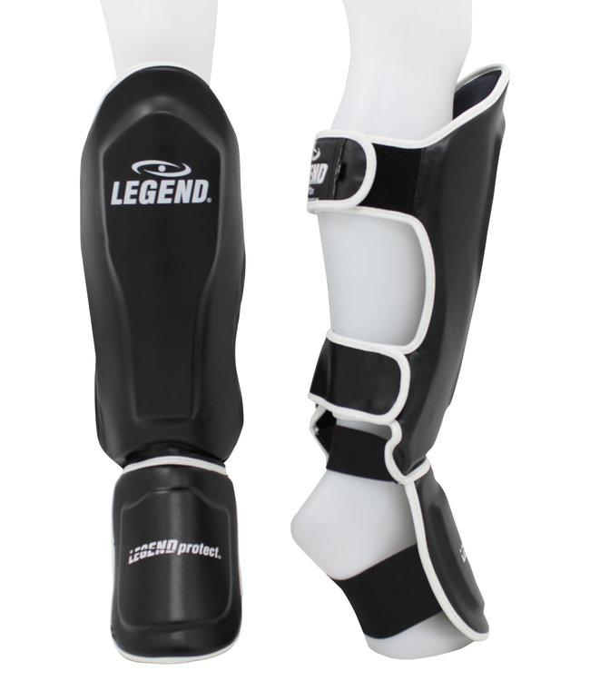 Legend Sports Scheenbeschermers Legend Best zwart/wit