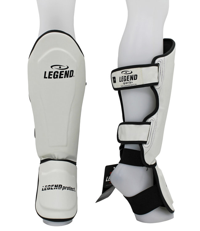 Legend Sports Scheenbeschermers kickboksen Legend Best Wit