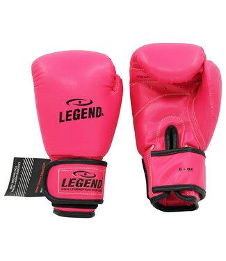 Legend Sports 4-8 jaar Bokshandschoenen kind Neon Roze