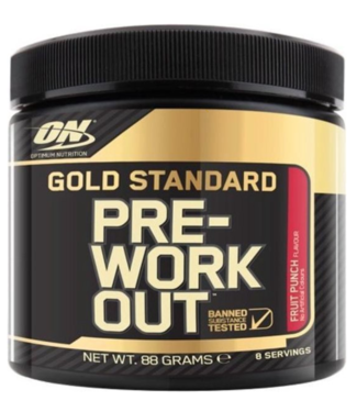 Optimum Nutrition Optimum Nutrition Pre-workout Gold Fruit Punch 8 Servings