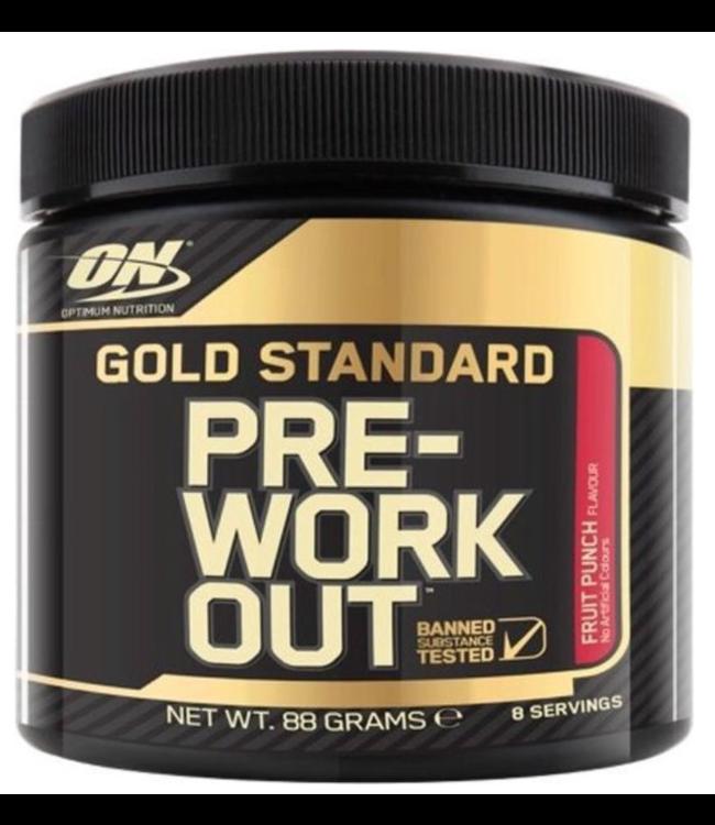 Optimum Nutrition Optimum Nutrition Pre-workout Gold Fruit Punch 8 Servings