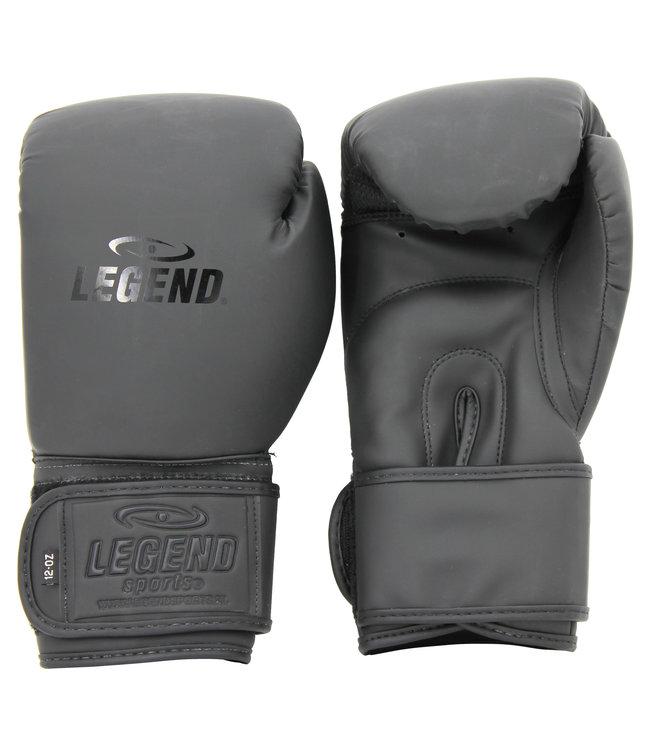 Legend Sports Bokshandschoenen Mat Zwart powerfit & Protect