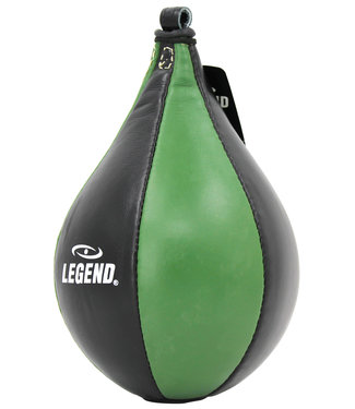 Legend Sports Lederen Boksbal legend speedball Wit of Army