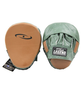 Legend Sports Stootkussen legend pro line focus pads Army/Bruin