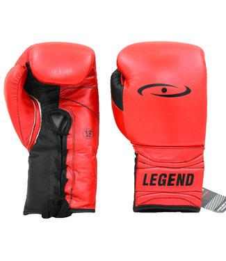 Legend Sports Bokshandschoenen Limited Legendary Rood/Mat zwart