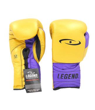 Legend Sports Bokshandschoenen Limited Legendary Goud/Paars