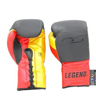 Legend Sports Bokshandschoenen Limited Legendary Mat Zwart/Rood/Goud