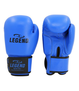 Legend Sports Leren Bokshandschoenen LegendPadding Blauw