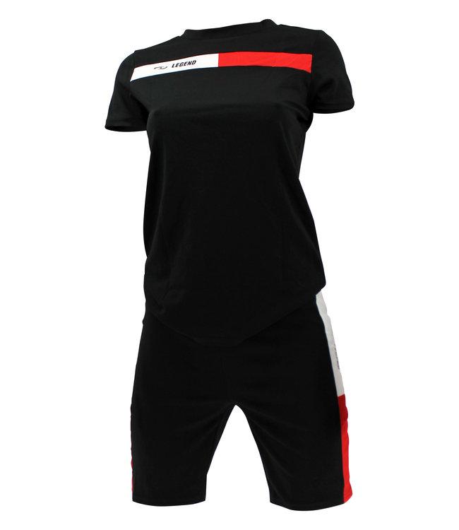 Legend Sports Allround Dames Sport-Outfit Black