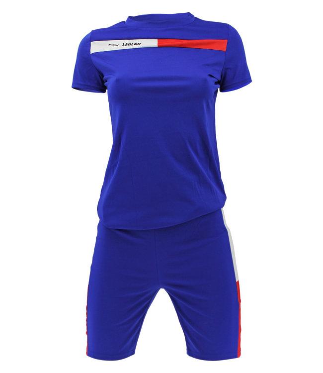 Legend Sports Allround Dames Sport-Outfit Blue