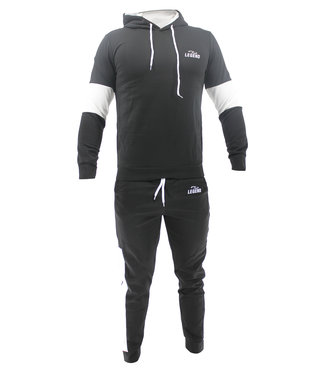 Legend Sports Functioneel Joggingpak Black & White