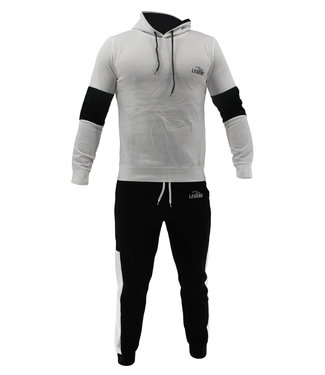 Legend Sports Functioneel Joggingpak White & Black