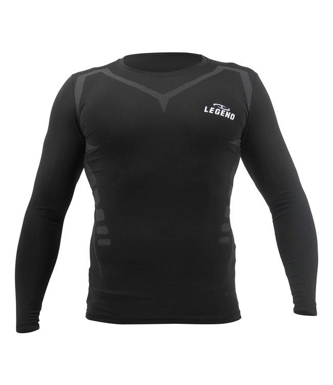 Legend Sports MMA / Fitness DRY-FIT Longsleeve Black