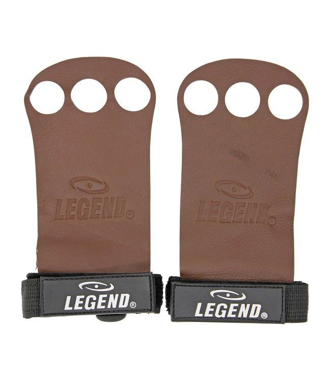 Legend Sports Crossfit & Fitness Handschoenen Leer Brown