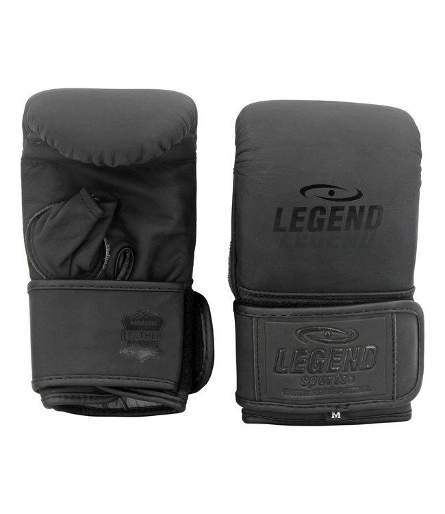 Legend Sports Leren zakhandschoenen voor op de bokszak