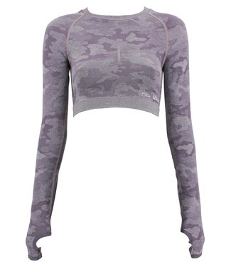 Legend Sports Dames Sport-Top Army Purple