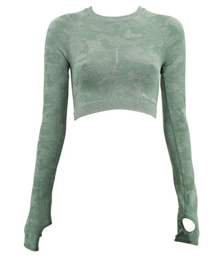 Legend Sports Dames Sport-Top Army Green