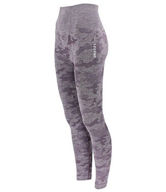Legend Sports Dames Sportlegging Purple