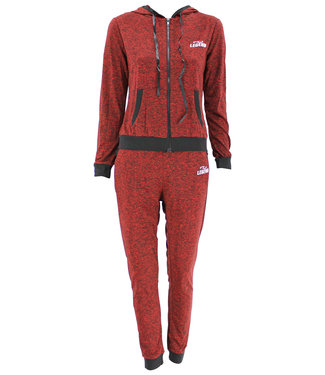 Legend Sports Dames Lifestyle suit bordeaux
