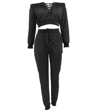 Legend Sports Dames Lifestyle suit Black