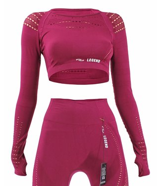 Legend Sports Sport Top  Raspberry