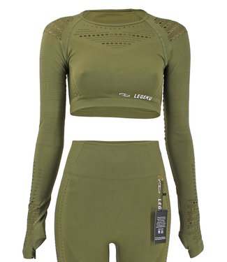 Legend Sports Sport Top Army Green