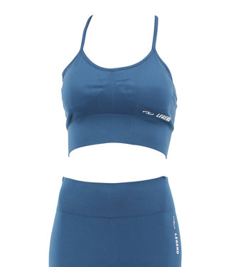 Legend Sports sport bh legend blauw  mesh