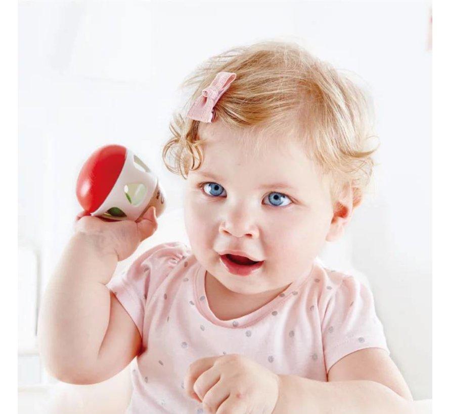 Baby Bel Rammelaar hout Hape