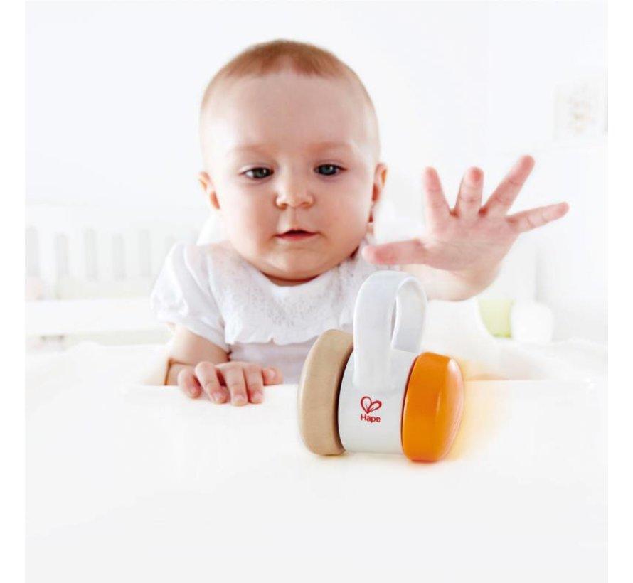 Baby Rammelaar Motoriek hout Hape
