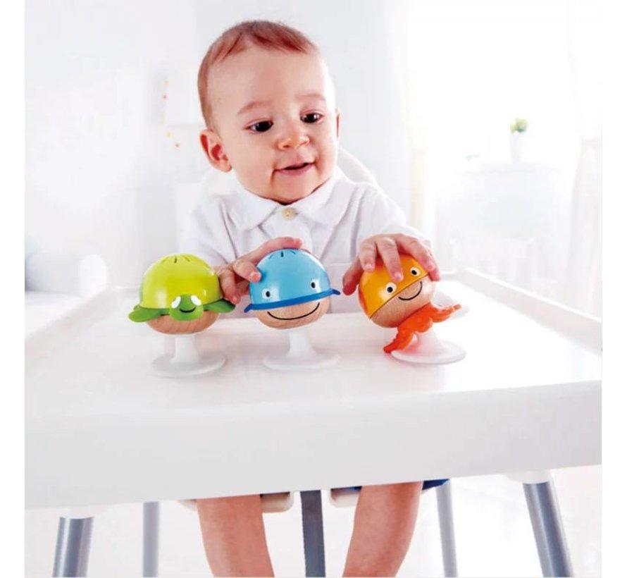 Baby Rammelaar Set 3 Stuks Hape