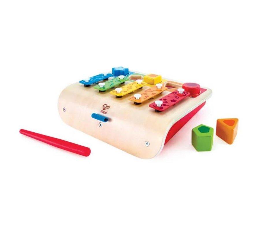 Hape Multifunctionele Xylofoon 7 delig