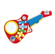 Hape Hape Muziekmaker 6-in-1 Gitaar