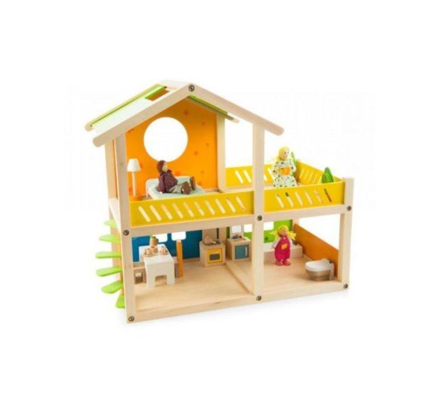 Happy Villa Speelhuis Hape hout