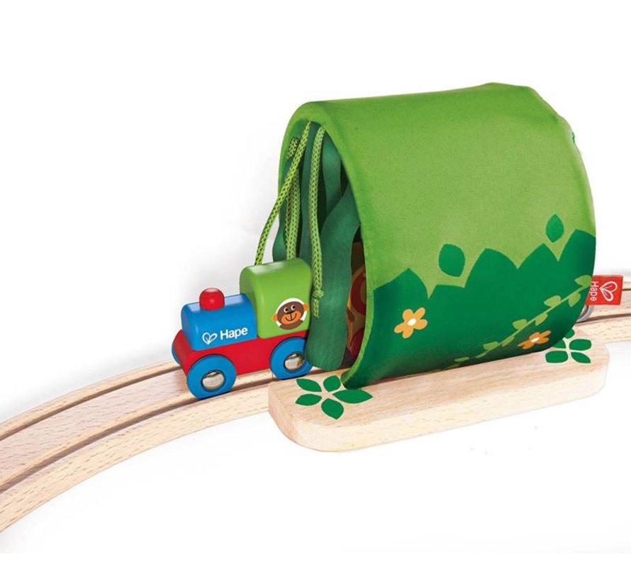 Houten treinbaan Jungle Hape